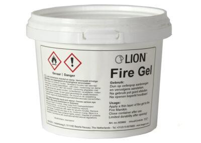 Produktbild LION Feuergel für Brandpuppen