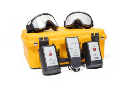 LION - Misty Elektronische Blindmaske - Set