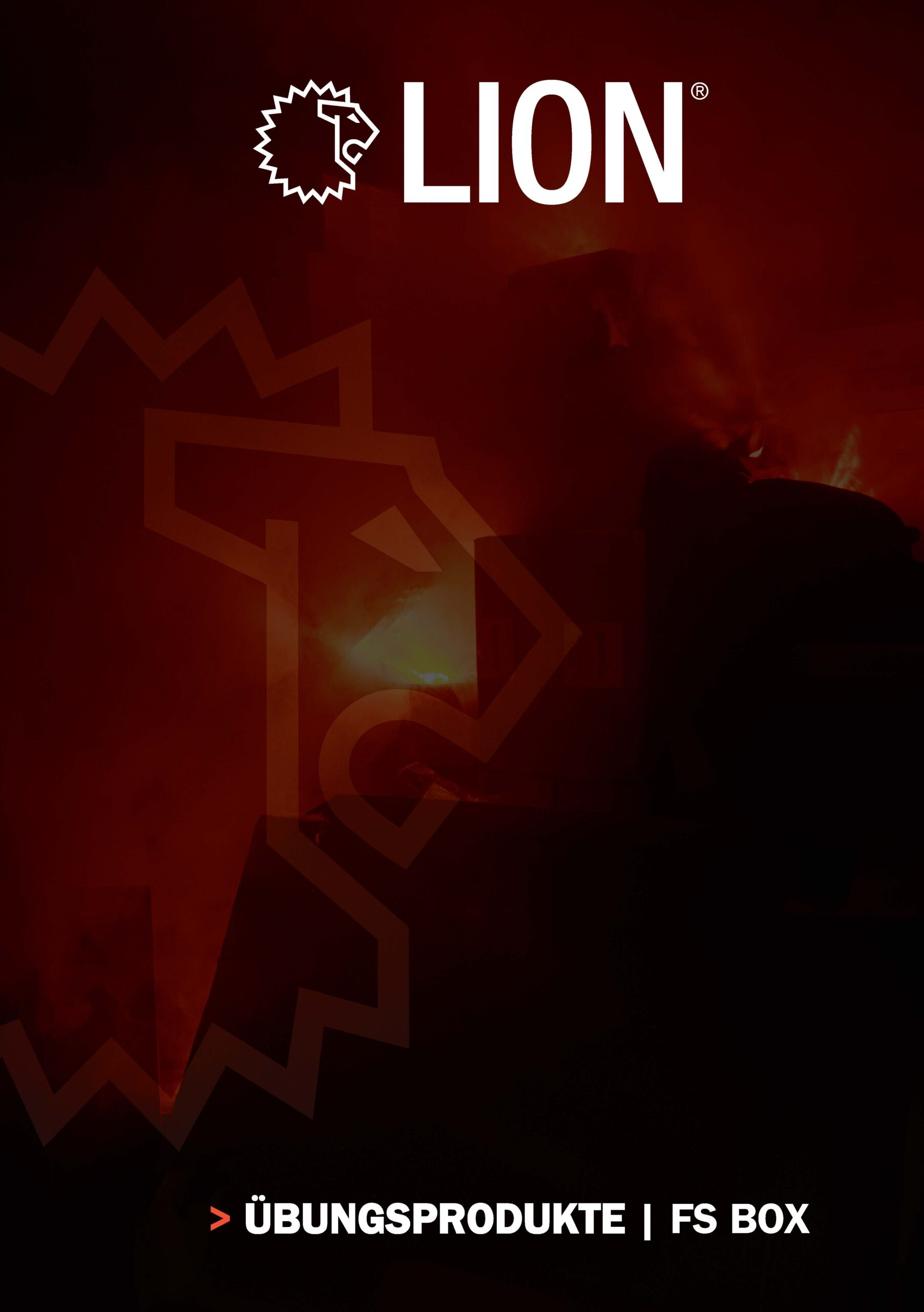 Titelseite Produktbroschüre LION FS Box ABRIX LIONPROTECTS.DE